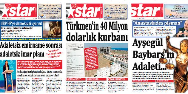 KIBRISLI TÜRK'E ADALETSİZLİK