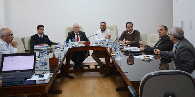 Trafik güvenliğiyle ilgili komite toplandı