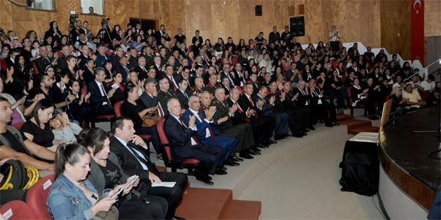 Lefkoşa Atatürk Kültür Merkezi'nde anma töreni düzenlendi
