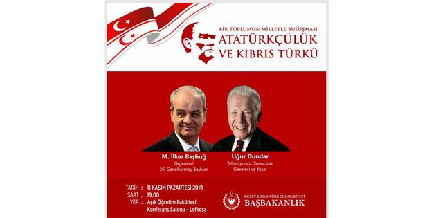 """""""Bir toplumun milletle buluşması-Atatürkçülük ve Kıbrıs Türkü"""" paneli yarın"""