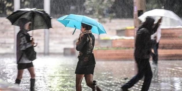 Hafta sonuna kadar yağmur bekleniyor
