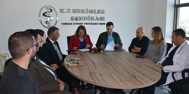 Sağlık Bakanı Besim Tıp-İş'i ziyaret etti