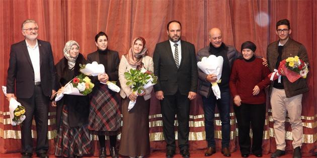 Şehit Mustafa Orhan belgeseli dün akşam ilk kez gösterildi