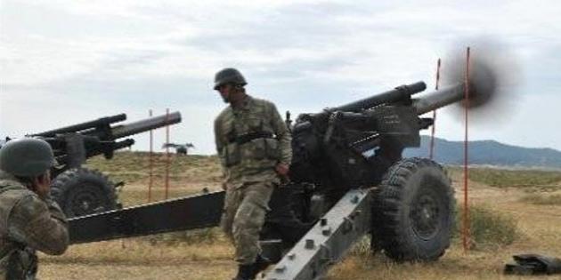 25 Şubat-17 Mart tarihlerinde Mevlevi Ağır Silah Atış Alanında topçu atışları yapılacak
