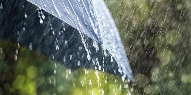 Çarşamba akşamından itibaren yağmur bekleniyor