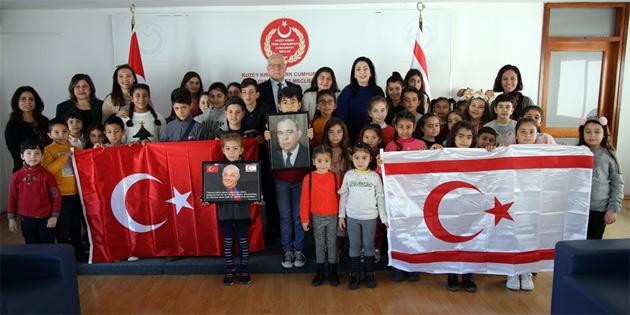 Töre Alaniçi, Akova ve Yıldırım İlkokulu öğretmen öğrenci heyetini kabul etti