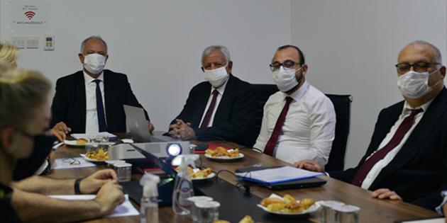YÖDAK Destek Eğitim Komitesi, Rauf Denktaş Üniversitesinde denetleme yaptı