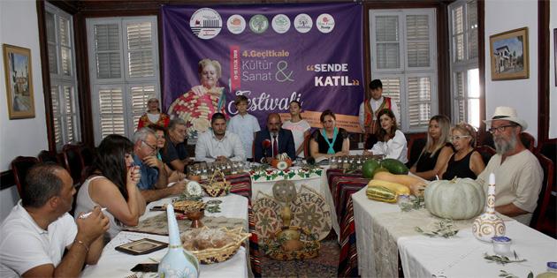 """""""4. Geçitkale Kültür ve Sanat Festivali"""" cuma akşamı başlıyor"""