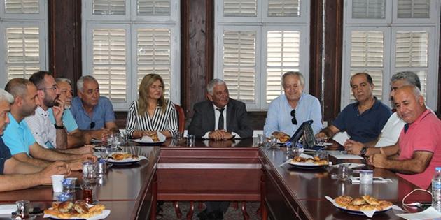 Doğu Akdeniz Belediyeler Birliği Meclis üyeleri, Özçınar'ı ziyaret etti