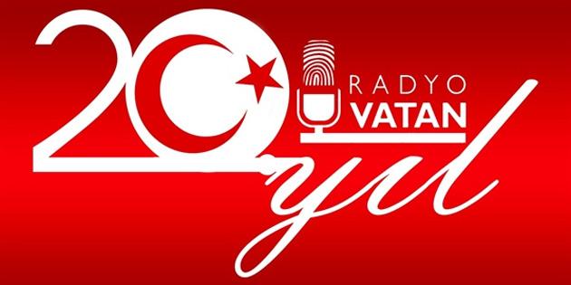 Kuzeyin Sesi Radyo Vatan'ın 20. kuruluş yılı kutlanıyor