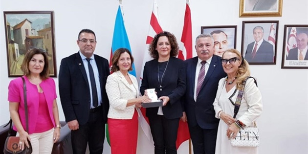 Dünya Basın Konseyi Bakü'de ziyaretlerde bulundu