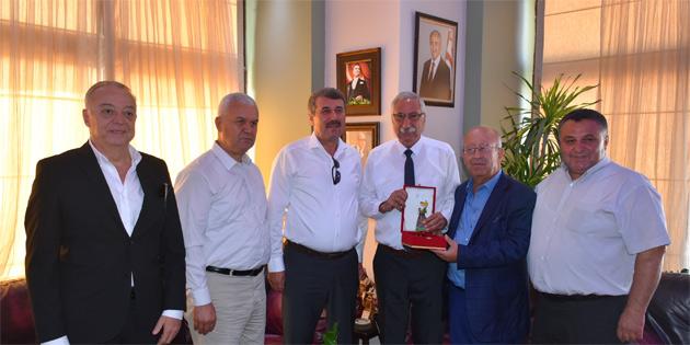 Anamur Belediye Başkanı Kılınç, Girne Belediyesi'ni ziyaret etti