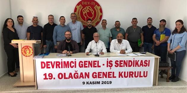 Devrimci Genel İş Sendikası 19. Olağan Genel Kurul toplantısı gerçekleştirildi