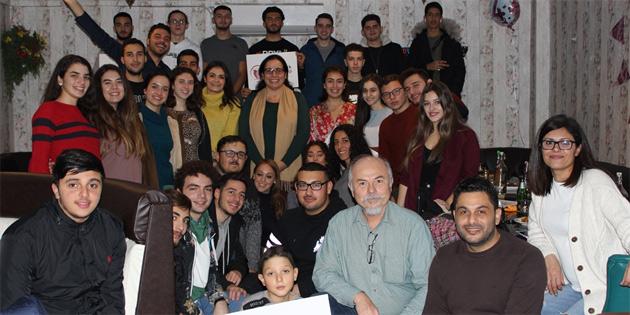 Kıbrıslı Türk gençler, Cardiff'te buluştu