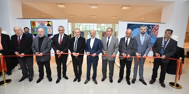 İnce ve Oğuzkan'ın sergisi Kıbrıs Modern Sanat Müzesi'nde
