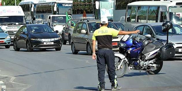 Trafikte son bir haftada 690 ceza kesildi