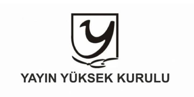 YYK 4 tv kanalına uyarı 1 tv kanalına para cezası verdi