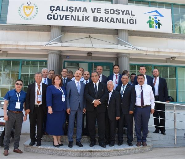 Bakan Sucuoğlu, Uluslararası Avrasya Eğitim Sendikaları Birliği Heyeti ile görüştü