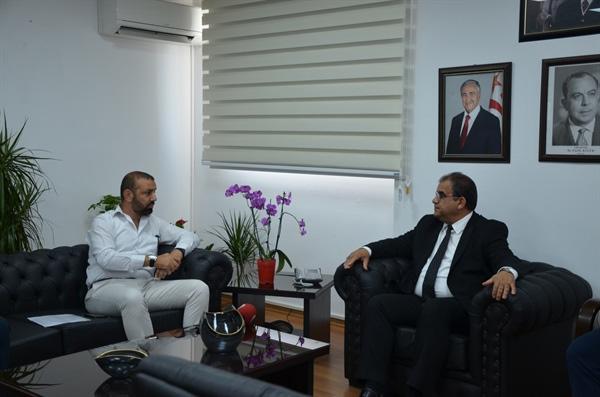 """Sucuoğlu, KAR-İŞ Heyetini kabul etti... """"Gerekli açılımları yapmaya hazırız"""""""