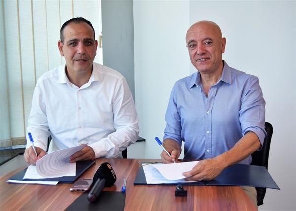 LTB  ile Levent Mozaik arasında Lefkoşa yeni Atıksu Arıtma Tesisi'nden Su Temini sözleşmesi imzalandı