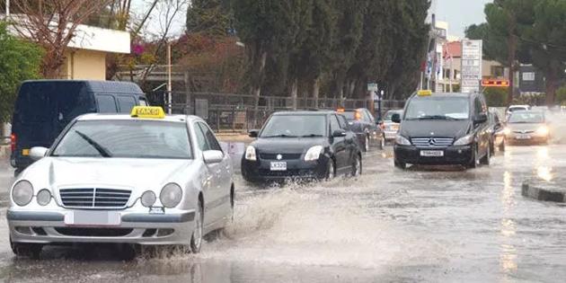 En çok yağış Girne'ye düştü