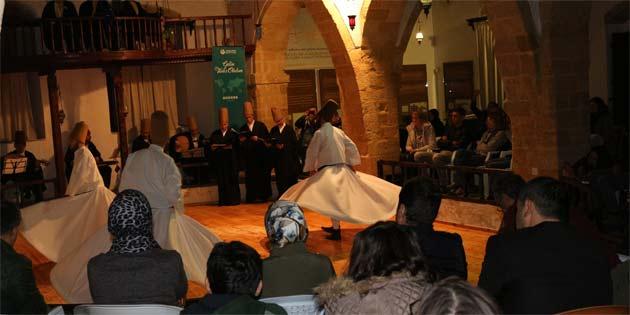 Mevlana'yı anma etkinlikleri açılış programı yapıldı