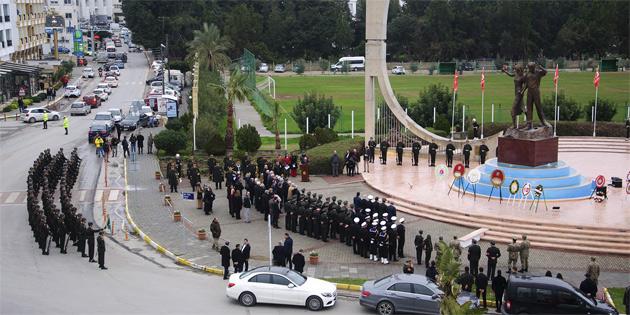 Limasol Direnişi ve direnişte şehit düşenler Girne'deki törenle anıldı
