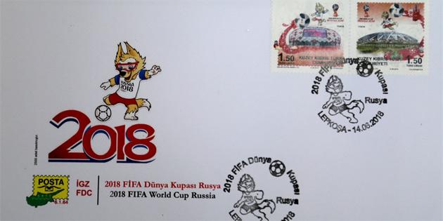"""""""2018 FİFA Dünya Kupası Rusya"""" konulu anma pul serisi çıkardı"""