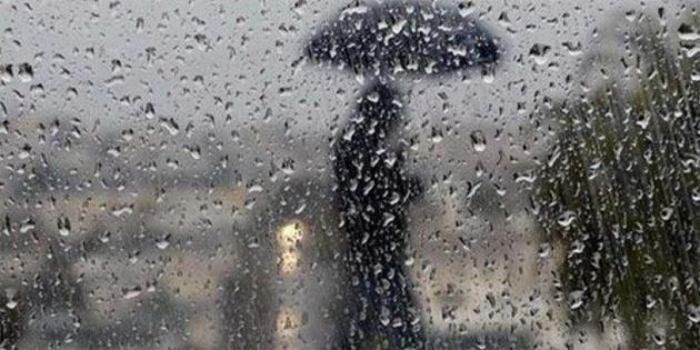 """""""Saat 14.00'ten itibaren sağanak yağış bekleniyor"""""""