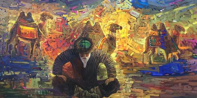 """""""Kırgızistan sanatçıları resim sergisi"""" yarın açılıyor"""