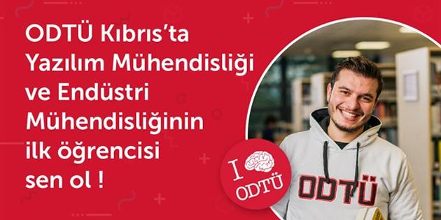 ODTÜ Kuzey Kıbrıs Kampüsü, endüstri mühendisliği ve yazılım mühendisliği bölümlerine öğrenci alacak