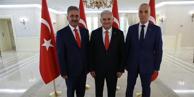 Çaluda, Türk-İş'in başkanlar kurulu toplantısına katıldı