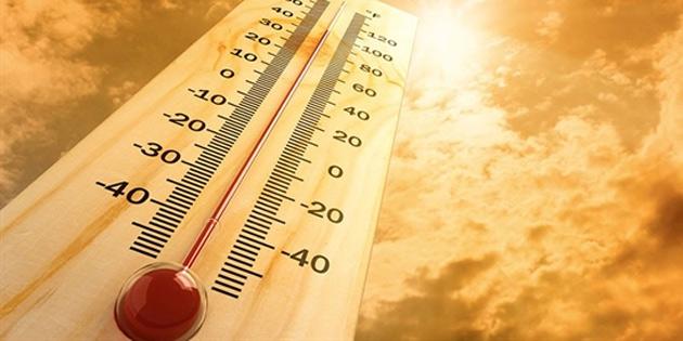 Hava sıcaklığı 38-41 derece dolaylarında olacak sonra 3-4 derece düşecek