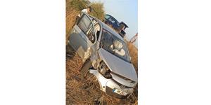Yoldan çıkan araç takla attı, ikisi çocuk üç kişi yaralandı