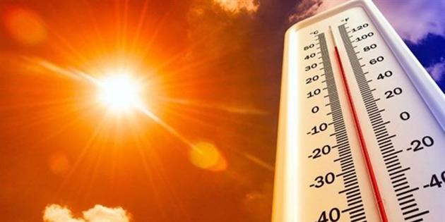 En yüksek hava sıcaklığı 37-40 derece dolaylarında olacak