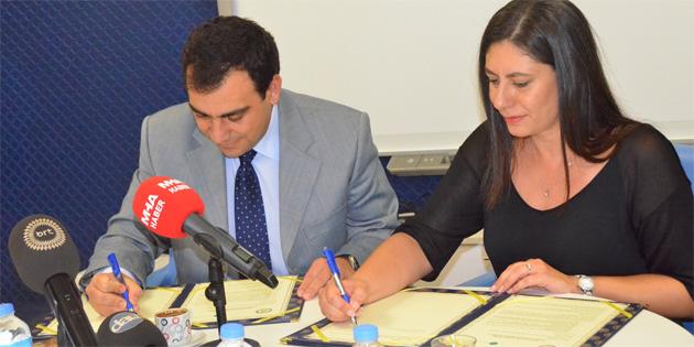 DAÜ ve Naci Talat Vakfı arasında işbirliği protokolü imzalandı