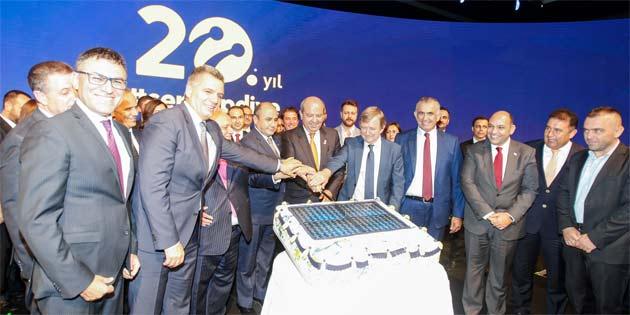 Kuzey Kıbrıs Turkcell 20'nci yaşını kutladı