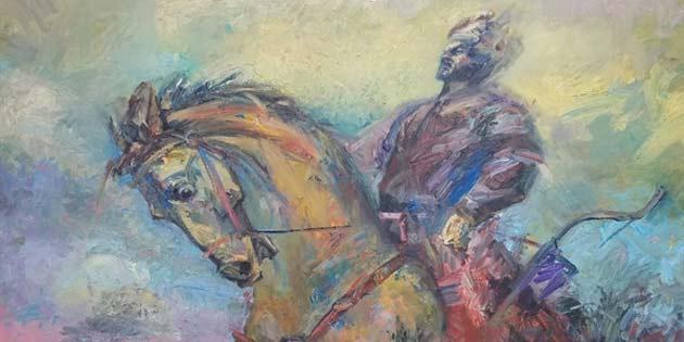 Kazak sanatçıların sergileri 15 Ekim'de YDÜ'de açılacak