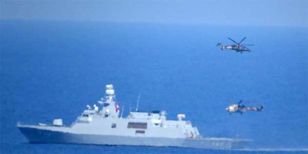 Şehit Yüzbaşı Cengiz Topel Akdeniz Fırtınası-2019 Tatbikatı başarıyla tamamlandı