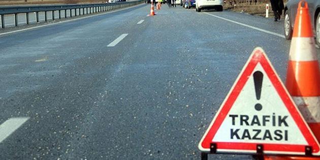 Geçen hafta toplam 66 trafik kazası meydana geldi