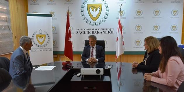 Sağlık Bakanı Pilli Diyabet Derneği heyetini kabul etti