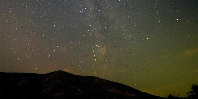 Bu gece meteor yağmuru var