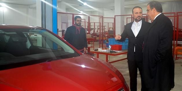 Bakan Sucuoğlu GÜNSEL'in üretileceği fabrikayı ziyaret etti