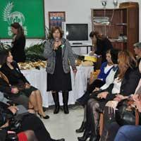 CTP'li kadınlar kokteyl düzenledi