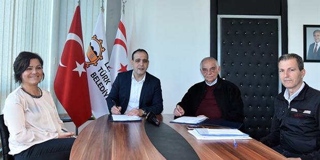 LTB 3 bölgeyi kapsayacak kanalizasyon projesini hayata geçirmek için sözleşme imzaladı