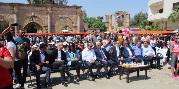 Turizm ve Çevre Bakanlığı, Gazimağusa Belediyesi ve DAÜ'nün işbirliğinde Turizm Şöleni
