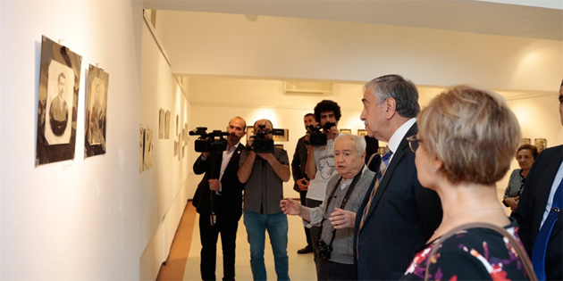 Kadir Kaba'nın kitap tanıtımı ve fotoğraf sergisine katıldı