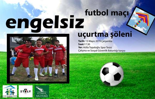 Rehabilitasyon merkezlerine devam eden özel gereksinimli gençler ile meclis takımı futbol karşılaşması yapacak