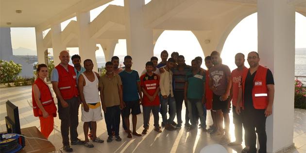Kuzey Kıbrıs Türk Kızılayı'ndan Bangladeşlilere psikososyal destek