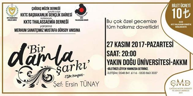 Merhum sanatçı Gürsoy'un anısına ithaf edilecek konser 27 Kasım'da